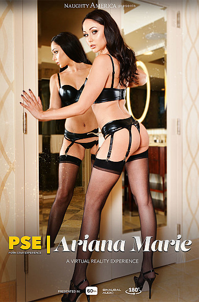 Watch Ariana Marie enjoy some 69 and American!