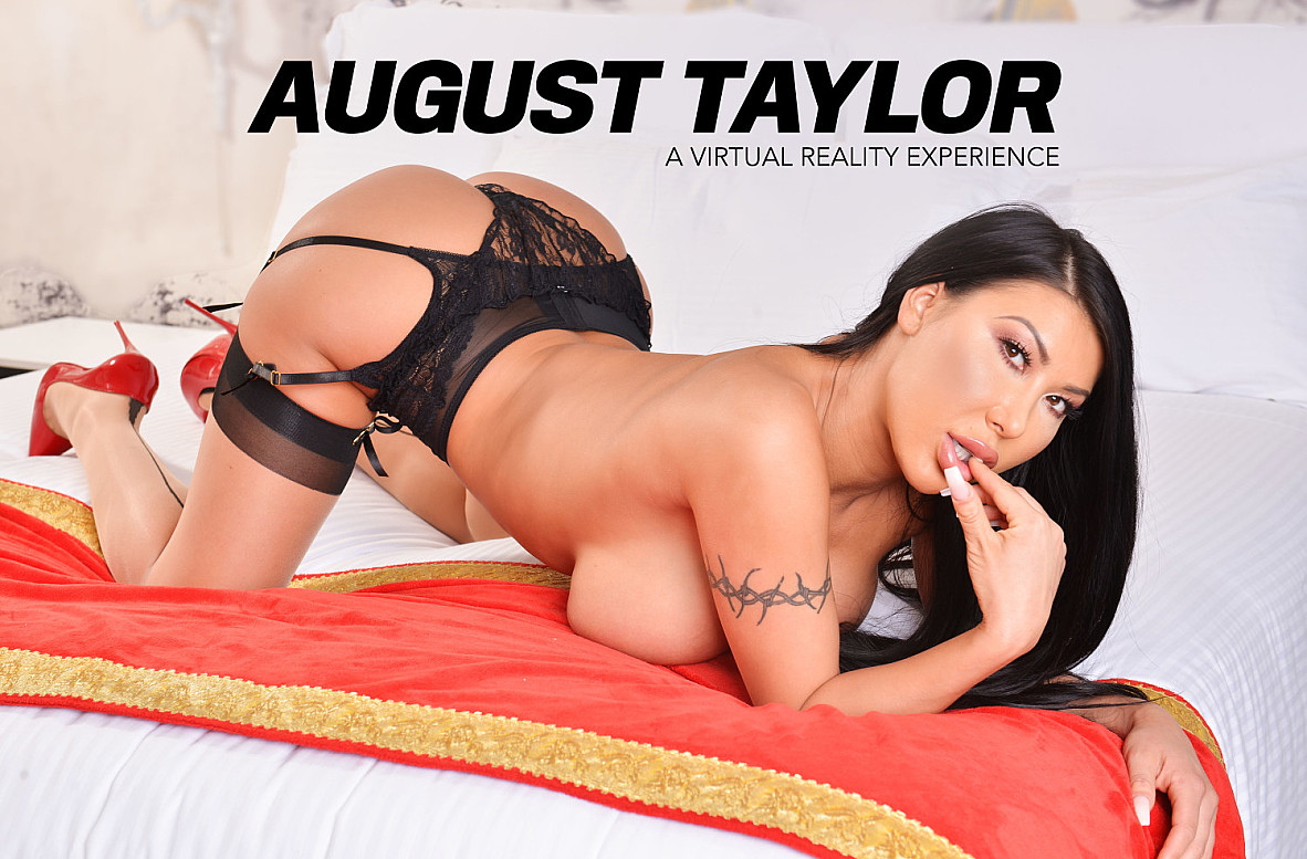 Watch August Taylor and Ryan Driller VR video in Naughty America