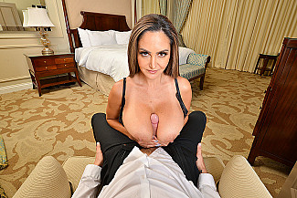 It's a big tits-big ass-VR porn kind of day with Ava Addams  - Sex Position 1