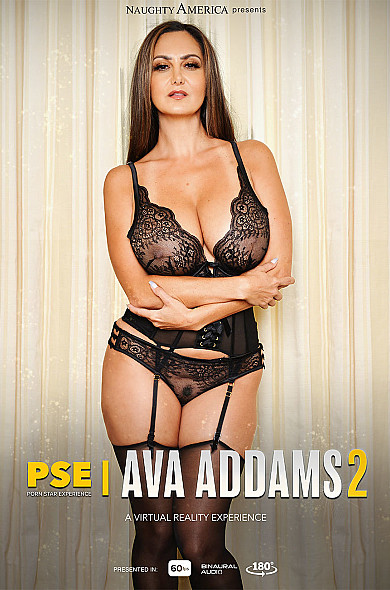 Watch Ava Addams enjoy some American and Average Body!