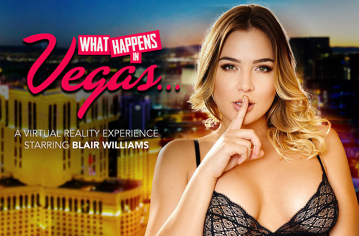 Watch Blair Williams and Preston Parker VR video in Naughty America