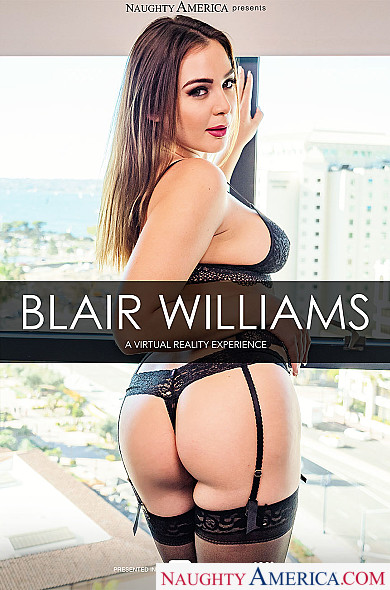 Watch Blair Williams enjoy some American and Blonde!