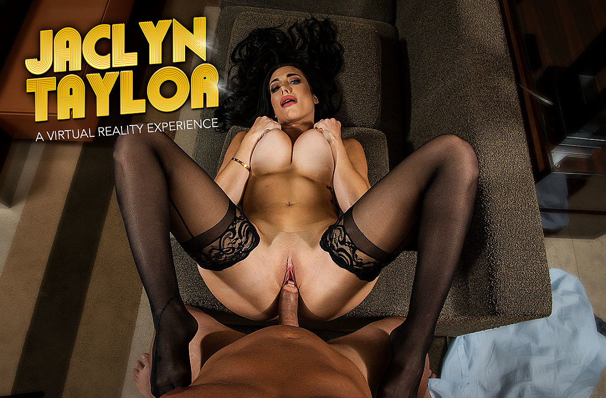 Watch Jaclyn Taylor and Ryan Driller VR 69 video in Naughty America
