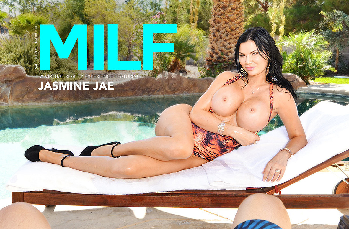 Watch Jasmine Jae and Ryan Driller VR video in Naughty America