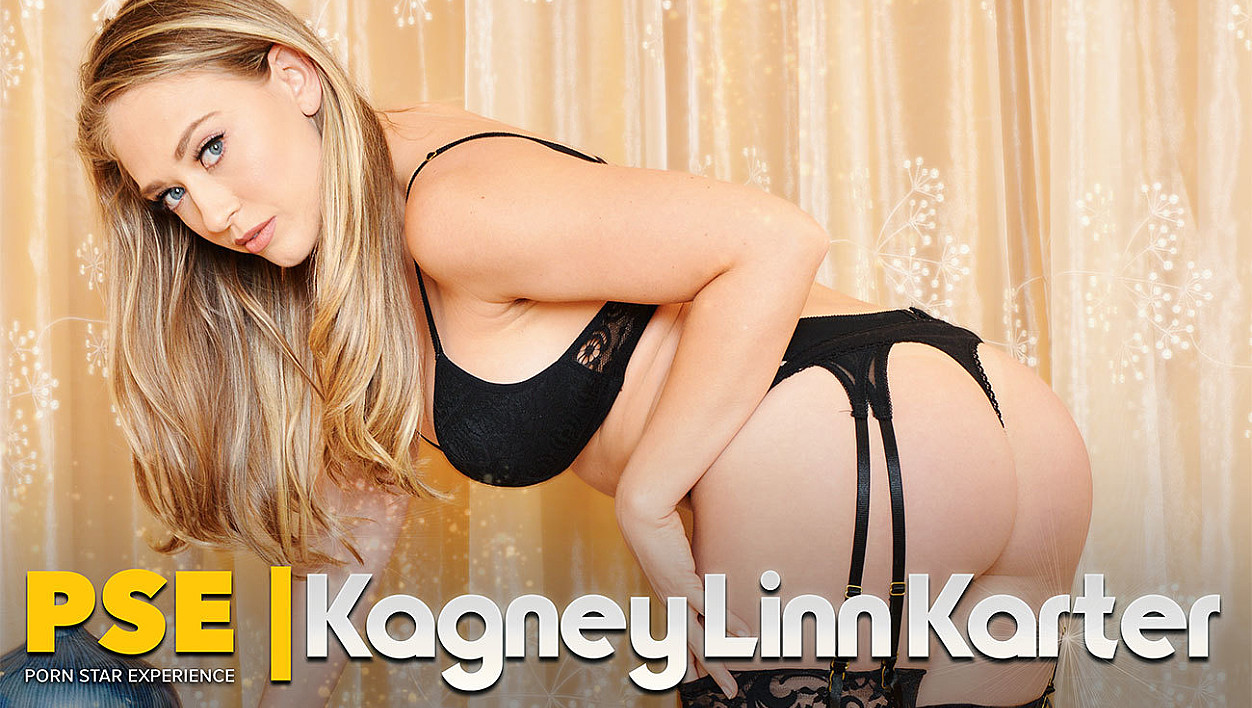 She knows what she's doing: VR porn with Kagney Linn Karter