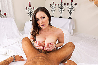Kendra Lust fucking in the chair with her tits vr porn - Sex Position 3