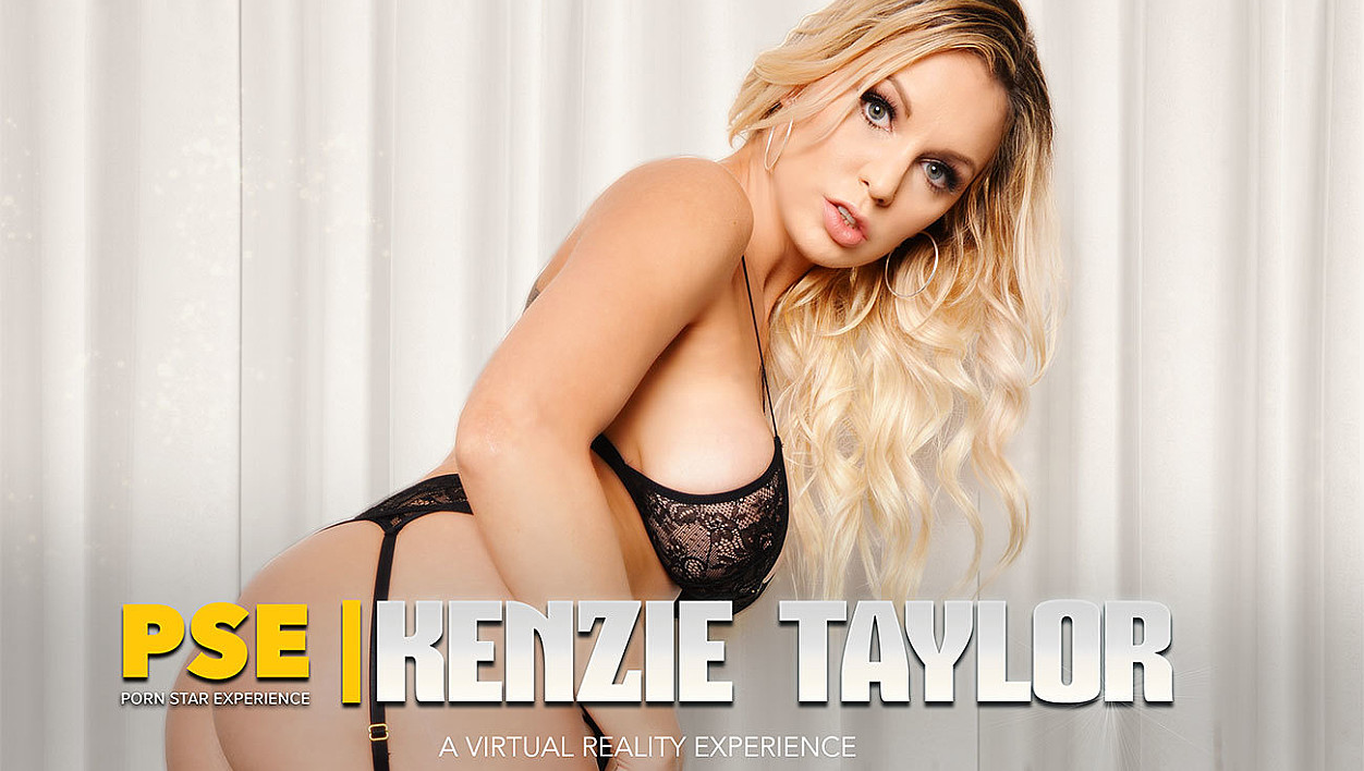 Interracial VR porn with big tits blonde Kenzie Taylor