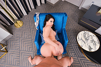 Big tits, big ass, no problem: Lana Rhoades VR Porn Star - Blowjob