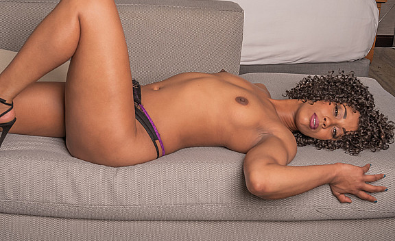 Misty Stone Fucks You With Her Black Pussy  - Sex Position #5