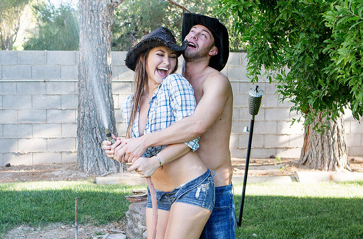 Watch Dani Daniels and Seth Gamble 4K video in Naughty Country Girls