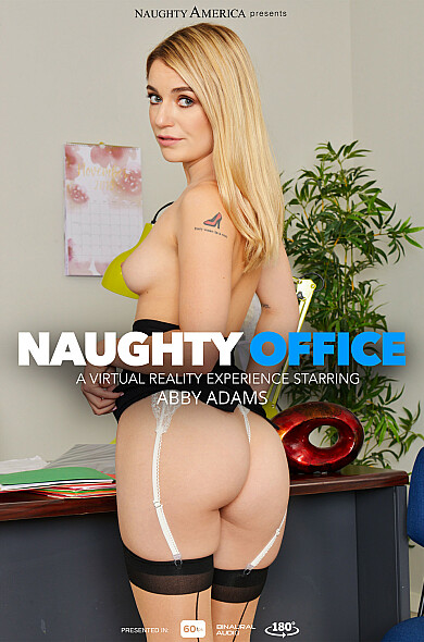 Abby Adams fucks you in your office – Naughty America