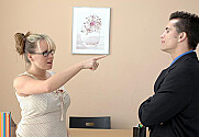 Brandy Talore & Talon in Naughty Office