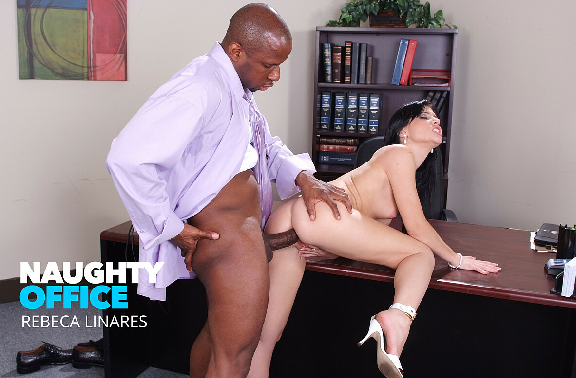 Watch Rebeca Linares and Prince Yahshua Anal video in Naughty Office