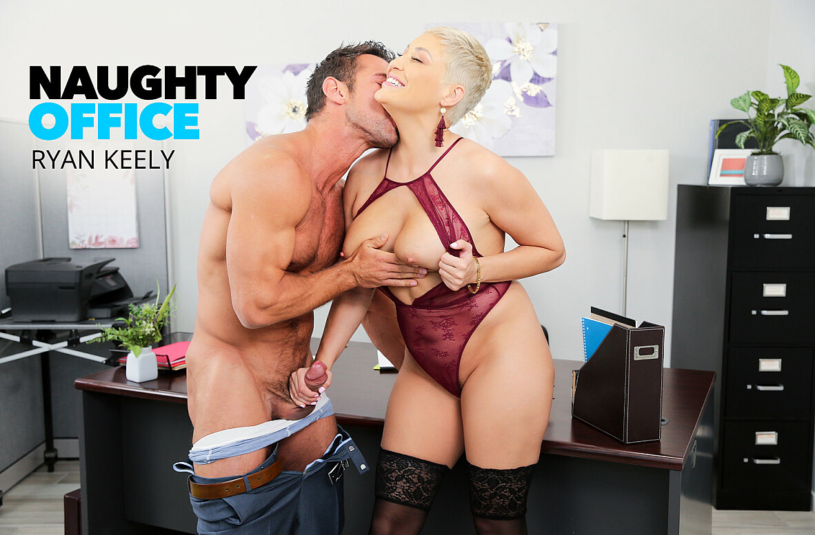 Watch Ryan Keely and Johnny Castle 4K 69 video in Naughty Office