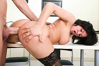 Tory Lane takes a huge cock in her ass - Sex Position 3