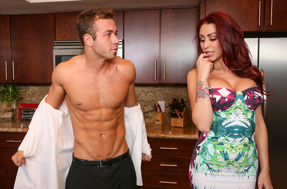 Watch Monique Alexander and Chad White 4K video in Naughty Rich Girls