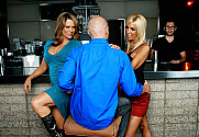 Elle Cee & Misty Vonage & Johnny Sins in Seduced By A Cougar