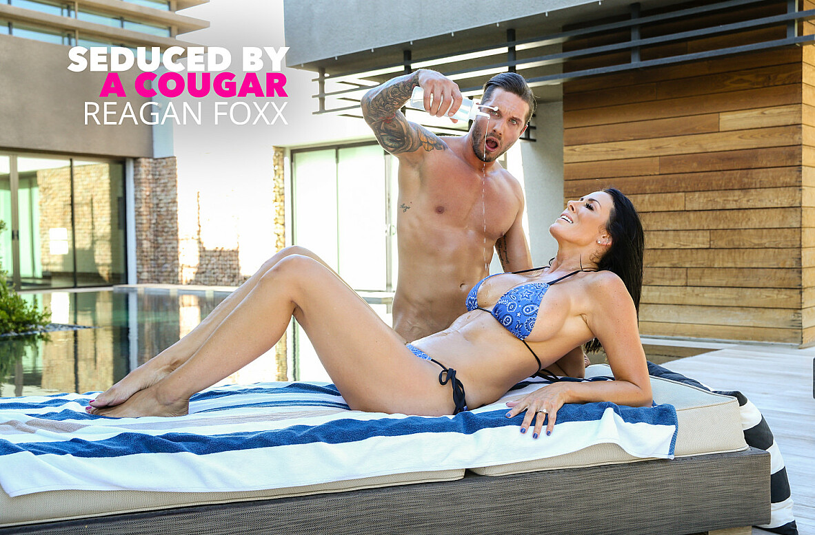 Watch Reagan Foxx and Quinton James 4K video in Seduced By A Cougar
