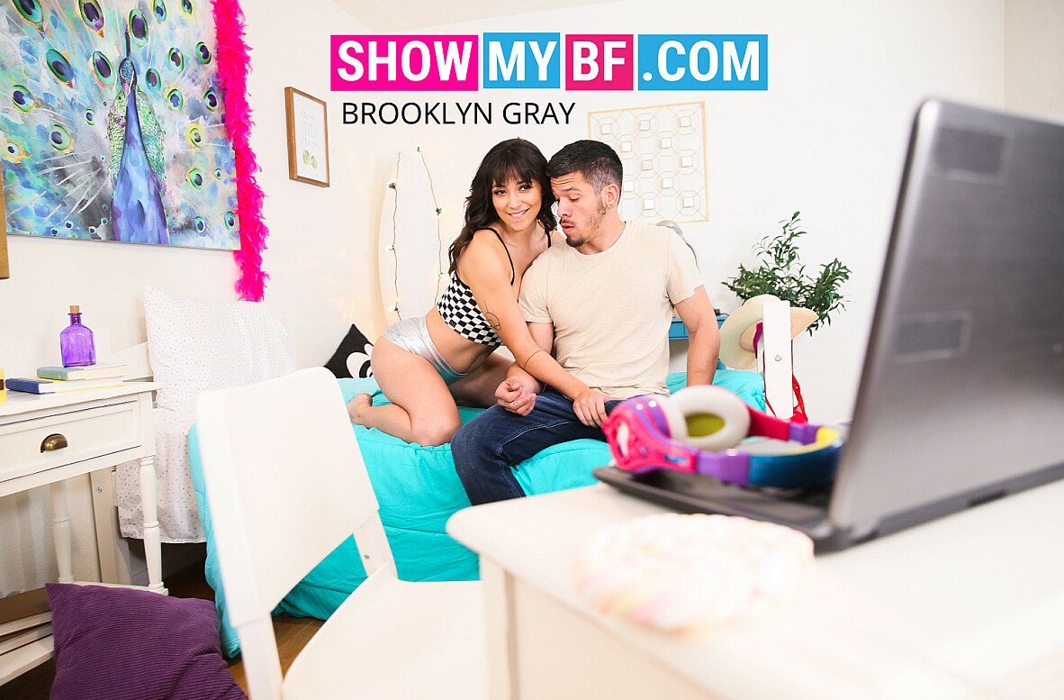 Watch Brooklyn Gray and Bambino 4K video in Show My BF
