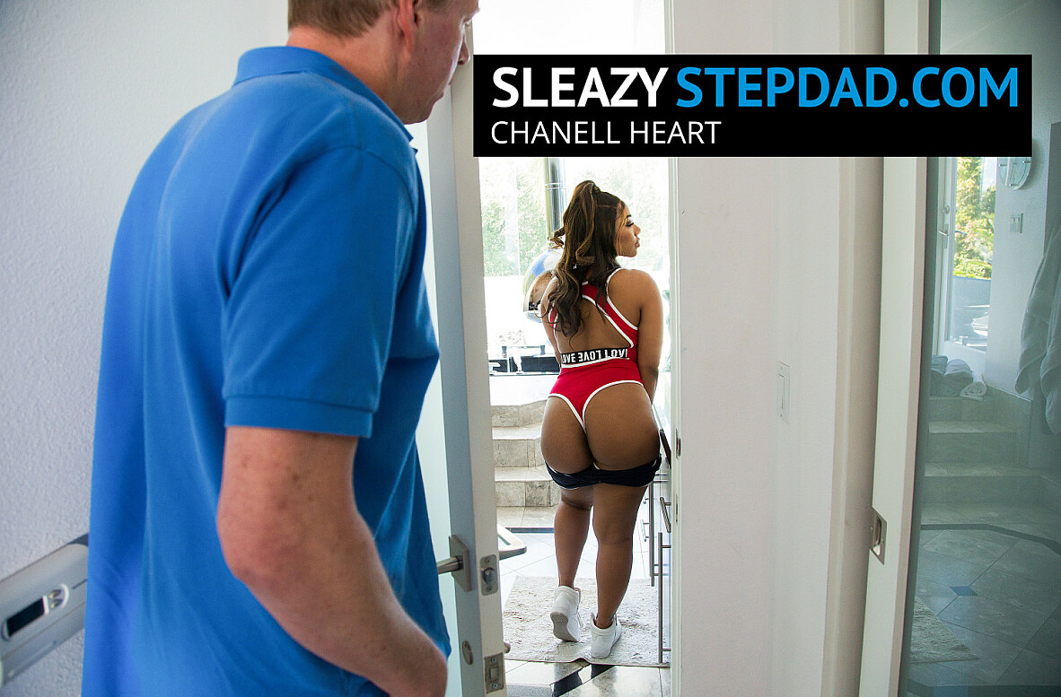 Watch Chanell Heart and Mark Wood 4K video in Sleazy Stepdad