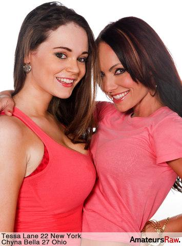 hot sexy girl Chyna Bella & Tessa Lane in amateur porn