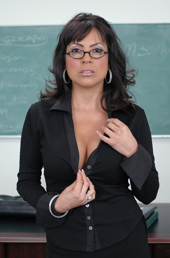 Adriana Anelise - xxx pornstar in many Shaved & Professor & Desk videos
