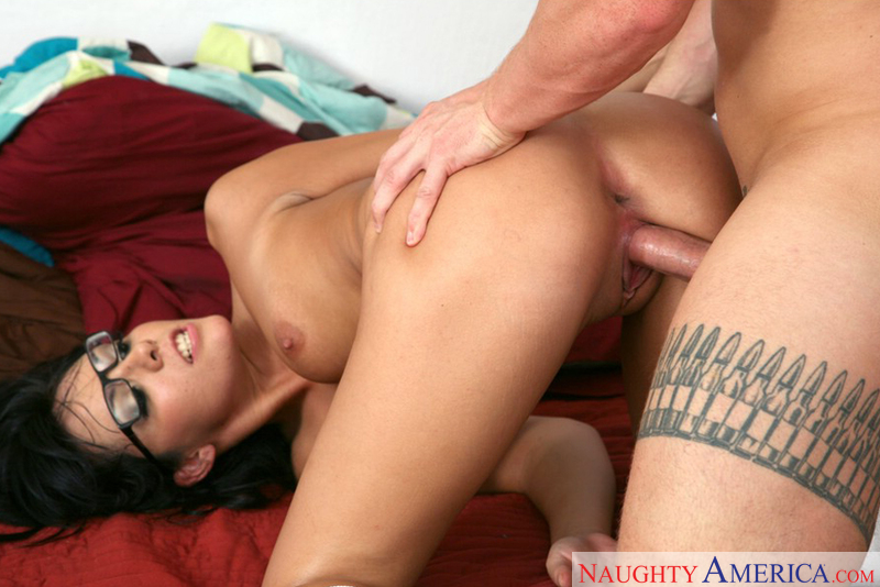 Co-ed Lorena Sanchez fucking in the dorm with her piercings - Sex Position 3