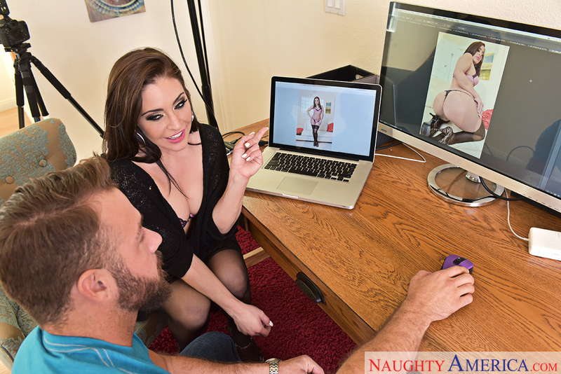 Gracie Glam fucking in the office with her bubble butt - Sex Position 1