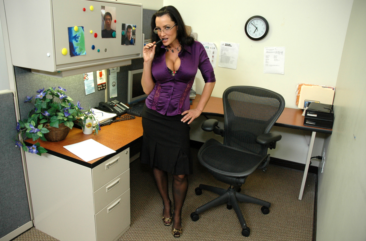 Watch Lisa Ann video in Live Naughty Secretary