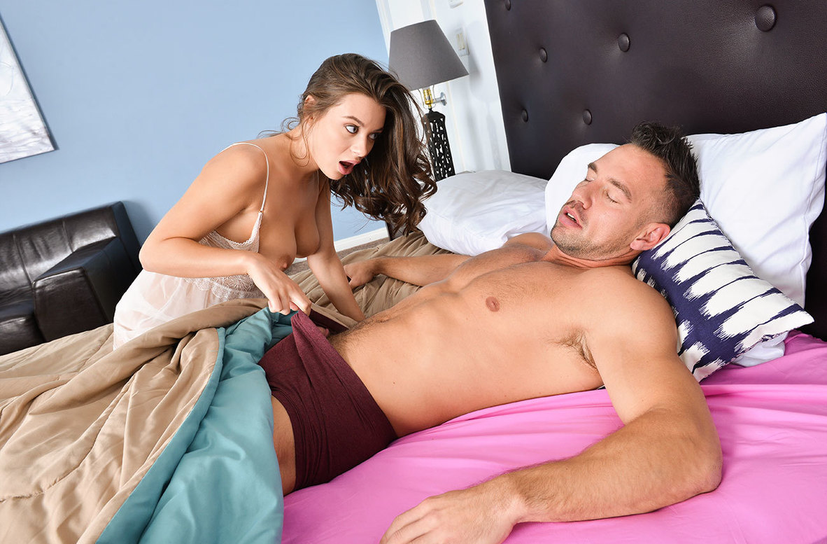 Lana Rhoades Cuckold Brother