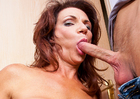 MILF Deauxma fucking in the hallway with her big tits - Blowjob