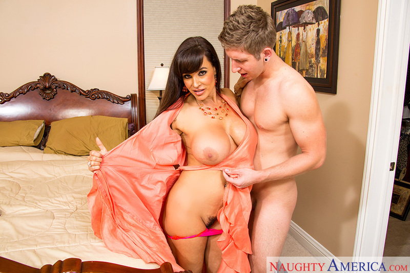 Lisa Ann fucking in the bedroom with her big ass - Sex Position 2