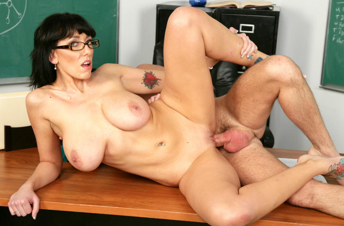 Watch Alia Janine and Dane Cross video in My First Sex Teacher