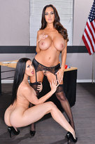 Ava Addams starring in Bad Girlporn videos with American and Ball licking