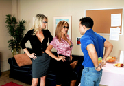 Bridgett Lee & Demi Delia & Mikey Butders in My First Sex Teacher