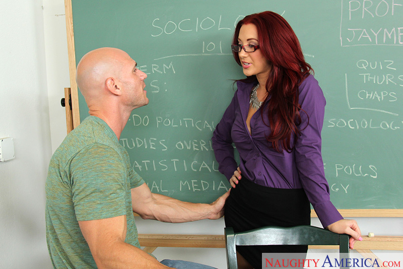 Classroom teacher teaching sex positions