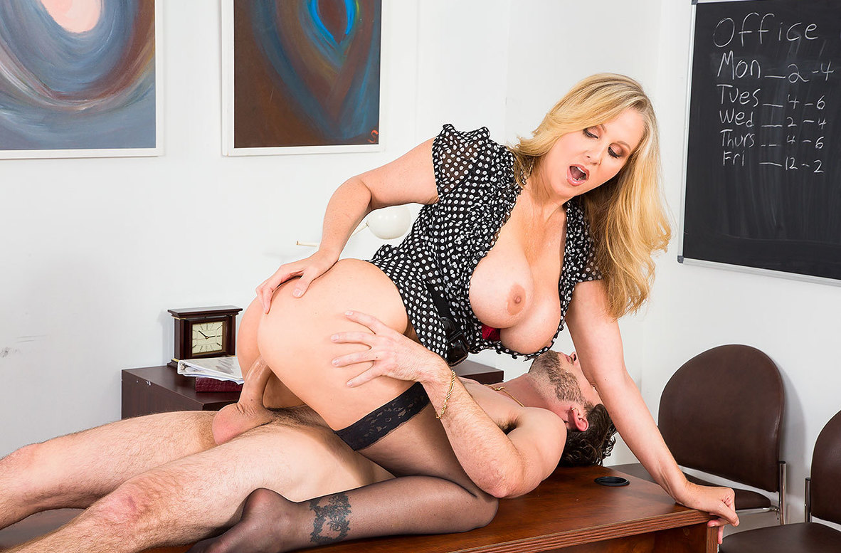 Watch Julia Ann and Lucas Frost 4K American video in My First Sex Teacher