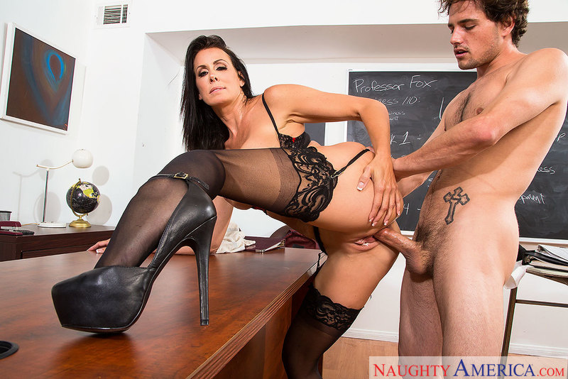 Big tits bang lands Reagan Foxx top 'bangable teachers' spot - Sex Position 3