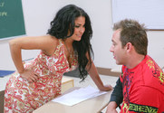 Sophia Lomeli & Will Powers in My First Sex Teacher