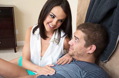 Watch Dillion Harper and Xander Corvus video in My Sister's Hot Friend