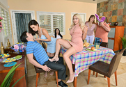 Kylie Page & Lana Rhoades & Alex D. in My Sister's Hot Friend