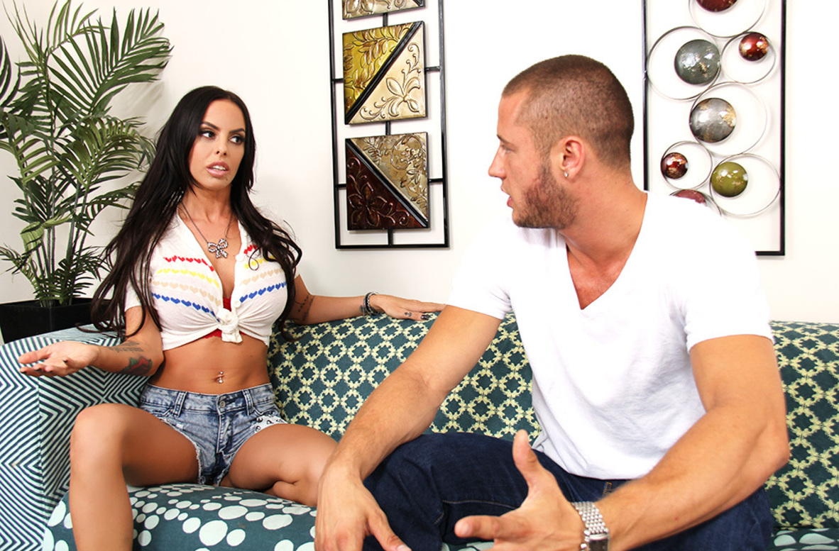 Watch Brandy Aniston and Danny Mountain video in My Wife's Hot Friend