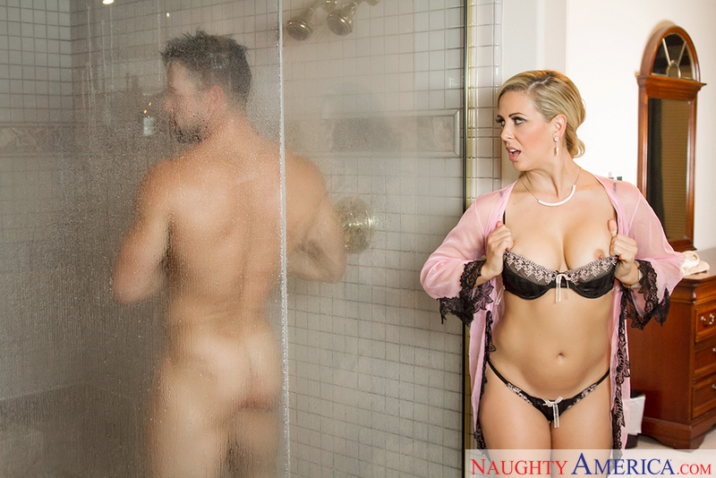 Johnny castle shower