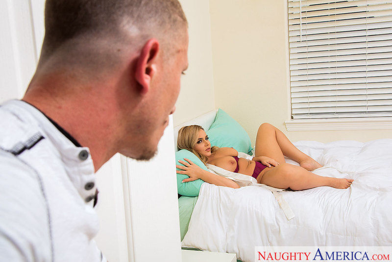 Natasha Nice fucking in the bedroom with her medium ass - Sex Position 1