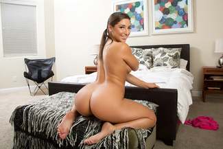 Abella Danger fucking in the living room with her petite - Sex Position 3
