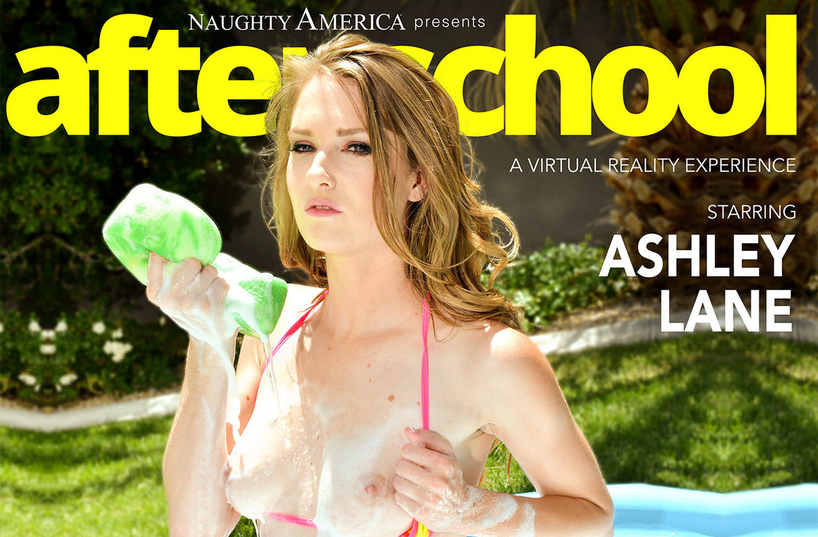 Watch Ashley Lane and Justin Hunt VR video in Naughty America