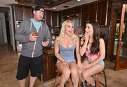Kylie Page & Lana Rhoades & T. Stone in Naughty America
