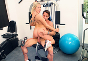 Kylee Reese & Alan Stafford in Naughty Athletics
