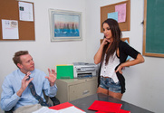 Giselle Leon & Mark Wood in Naughty Bookworms