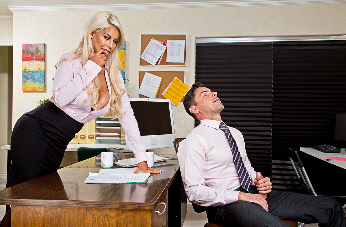 Watch Bridgette B. and Ryan Driller 4K video in Naughty Office